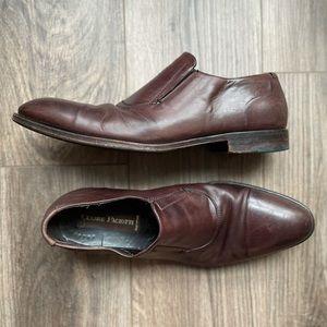 9.5 CESARE PACIOTTI Leather Dress Shoe